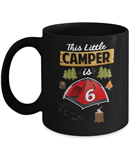 Amazon Fun 6th Camping Birthday Camp Lover 6 Year Old Gift