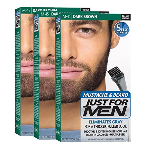 Just Men Mustache Beard Brush product image