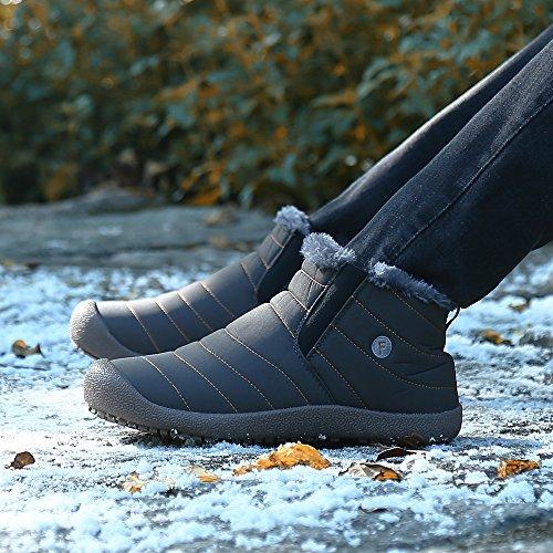 De Grau Top Invierno Botines High Libre Fur Hombre Mujer Cortas Boots Aire Saguaro® Botas StfqZ