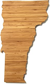"product image for AHeirloom State of Vermont Cutting Board, 15"", Amber"