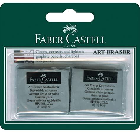 Grey Faber-Castell 127220 Kneaded Eraser with Case