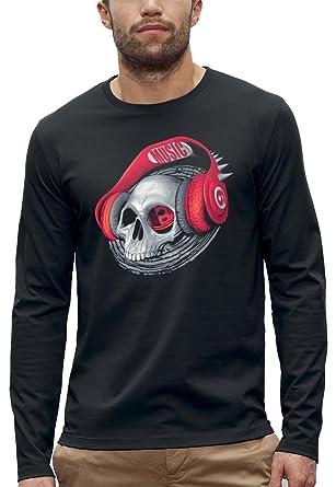 Pixel Evolution Long Sleeve Evolution T-Shirt 3D Skull