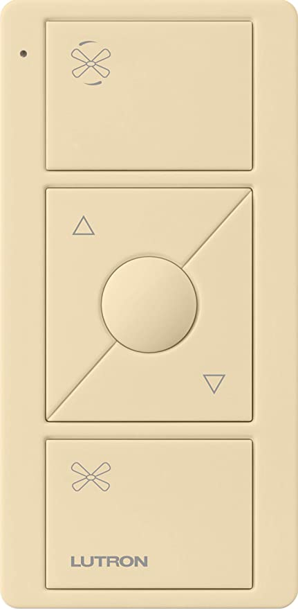 Lutron Pico Remote for Caseta Wireless Smart Fan Speed Control, PJ2-3BRL-GIV-F01, Ivory - - Amazon.com