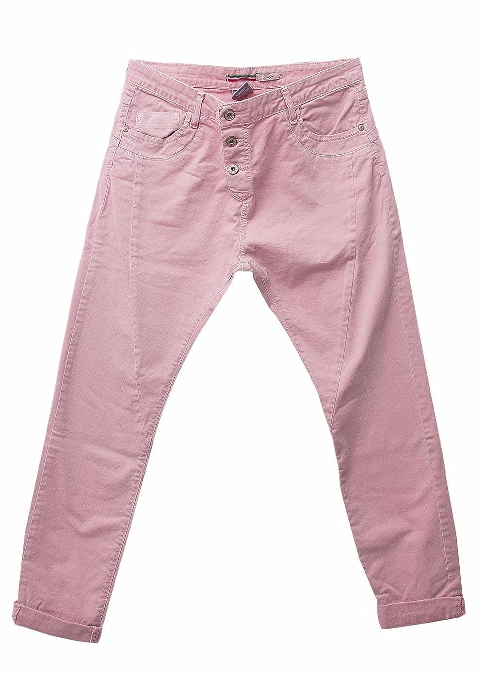 PLEASE JEANS DAMEN BAGGY BOYFRIEND P78 l pink: