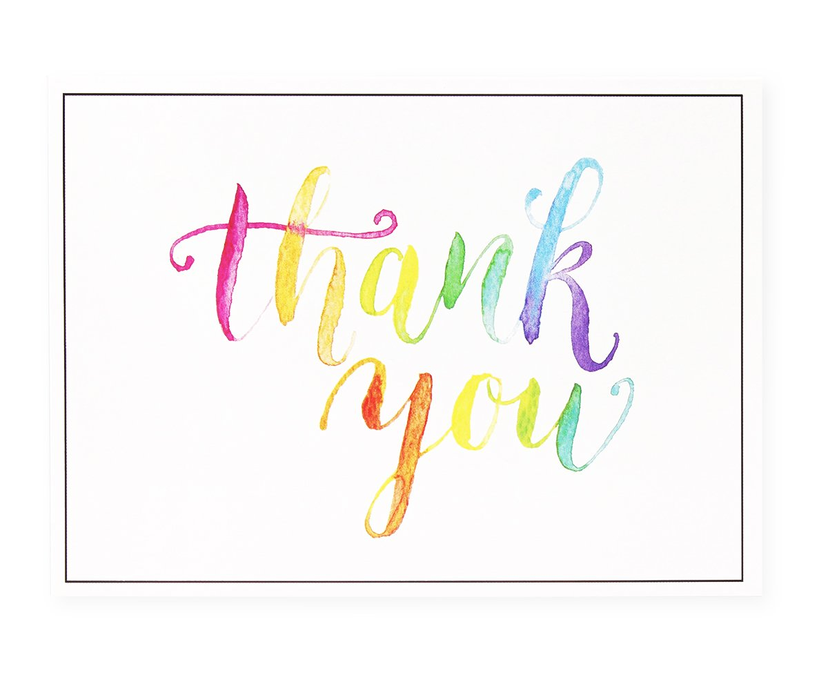 Amazon Thank You Cards 120 Pack Thank You Notes Watercolor