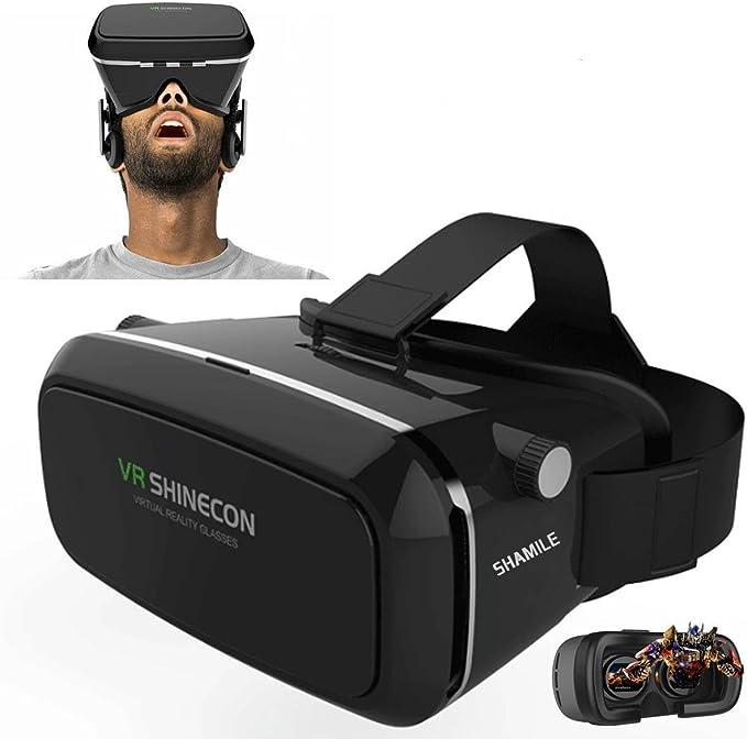 VR Headset, shamile 3d VR Gafas de realidad virtual para 4 – 6 ...