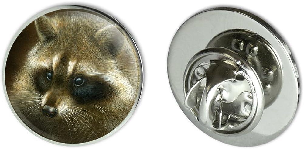 """GRAPHICS & MORE Raccoon Masked Bandit Metal 0.75"""" Lapel Hat Pin Tie Tack Pinback"""
