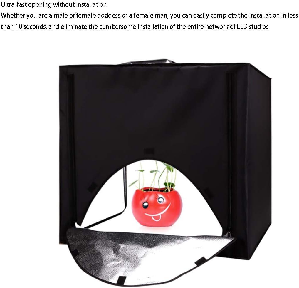 HWENJ Photo Studio Tent Photography Studio Kit Shoes Photography Etc White Soft Box Light Tent for Jewellery Large Foldable Photography Studio Portable Light Box Kit Food