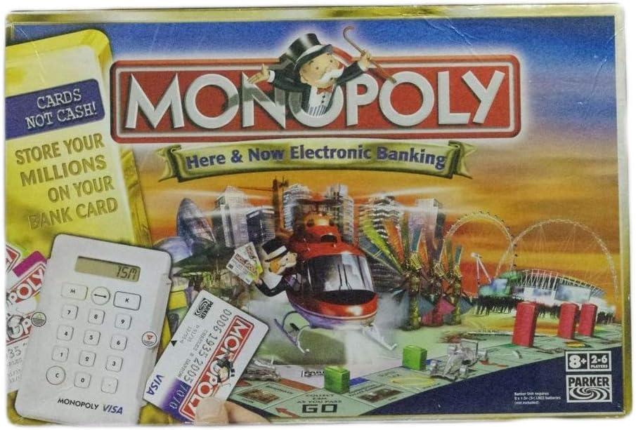 Hasbro Monopoly Here & Ahora Electronic Banking edición (Londres, Reino Unido) [Importado de Inglaterra]: Monopoly Here & Now Electronic Banking Edition (London, UK): Amazon.es: Juguetes y juegos
