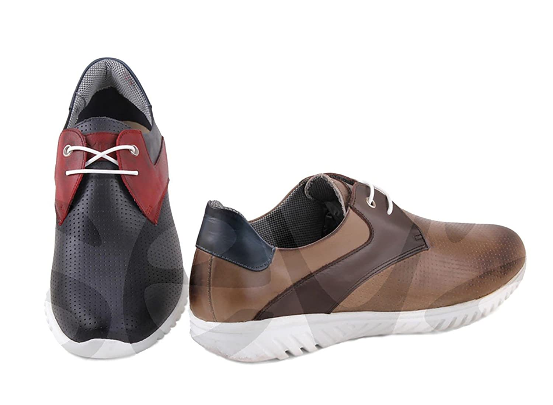 Exodo - 2416 - Zapato Caballero Piel - 45, Marino