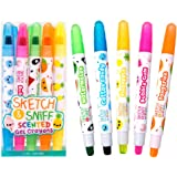 Sketch and Sniff Scented Gel Crayons 5-Pack by Scentco