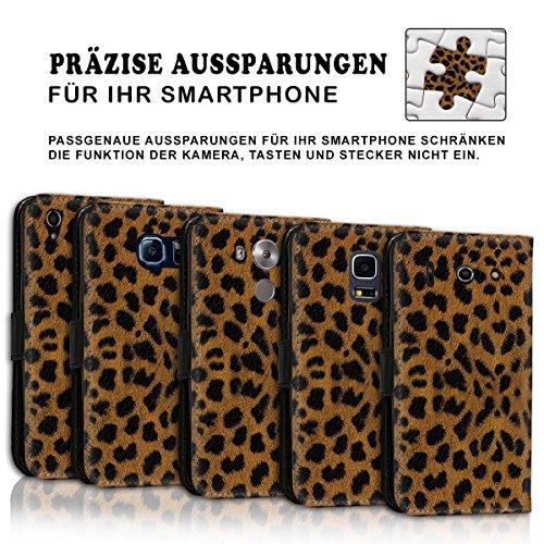 Wallet Book Style Flip Handy Tasche Case Schutz Hülle Schale Motiv Etui für Apple iPhone 6 Plus / 6S Plus - Design Flip MVD409