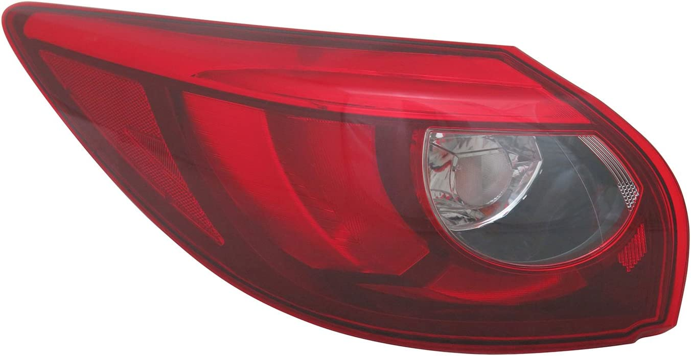 Multiple Manufactures MA2804119C Standard No variation Tail Light Assembly