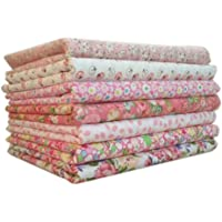 Demino 7pcs/Set Cotton Fabric For Sewing Quilting Patchwork