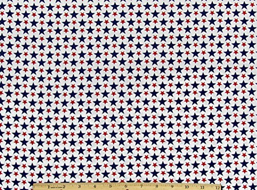 Star 4th of July Fabric by The Yard