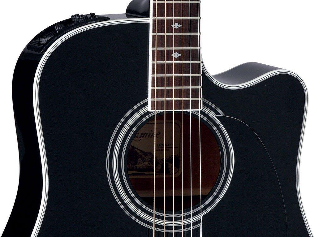 Takamine EF341SC Guitarra electro ac/ústica dreadnought serie legacy
