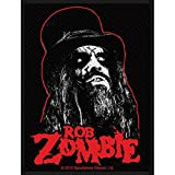 Rob Zombie Ringmaster Patch Spookshow Deluxe Art Metal Woven Sew On Applique