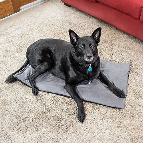Premium Pet Bed Mat: Soft Self Warming Dog Bed -...