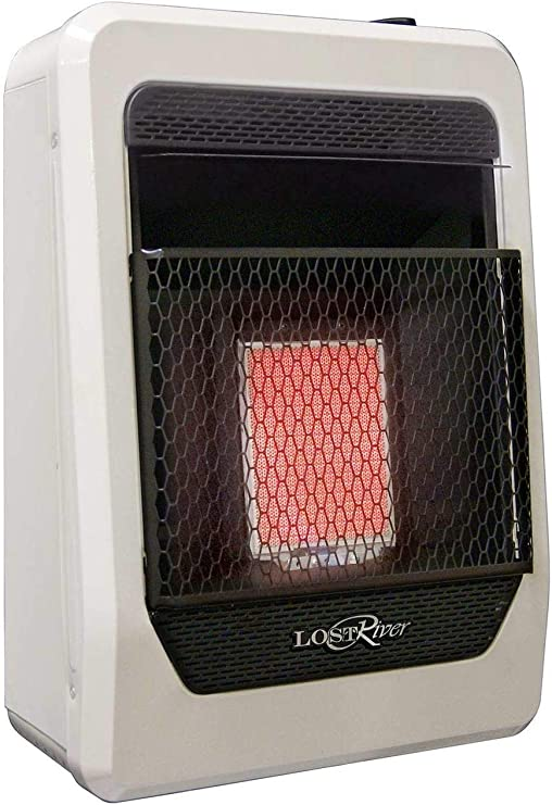 Lost River Natural Gas Ventless Infrared Radiant Plaque Heater