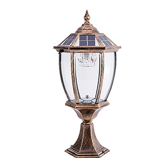 LED Light LED Solar Post Lights Contemporary Collection Exterior Outdoor Post Lantern Column Lights 24cm50cm Home Decoration