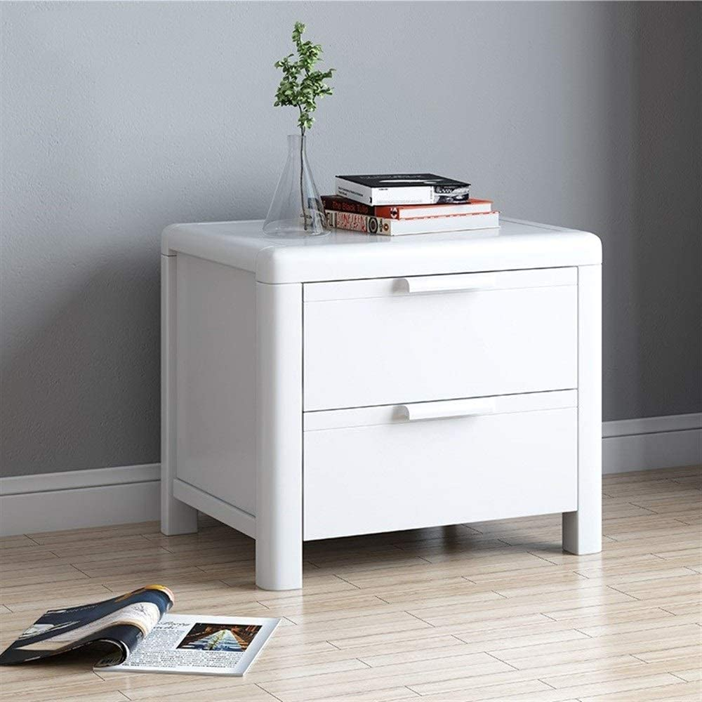 Amazon Com Ainiyf Solid Wood Bedside Table 2 Drawers Nightstand Tall End Table Storage Wood Cabinet Bedroom Solid Wood Furniture Color White Garden Outdoor,Weekly Bedroom Cleaning Checklist
