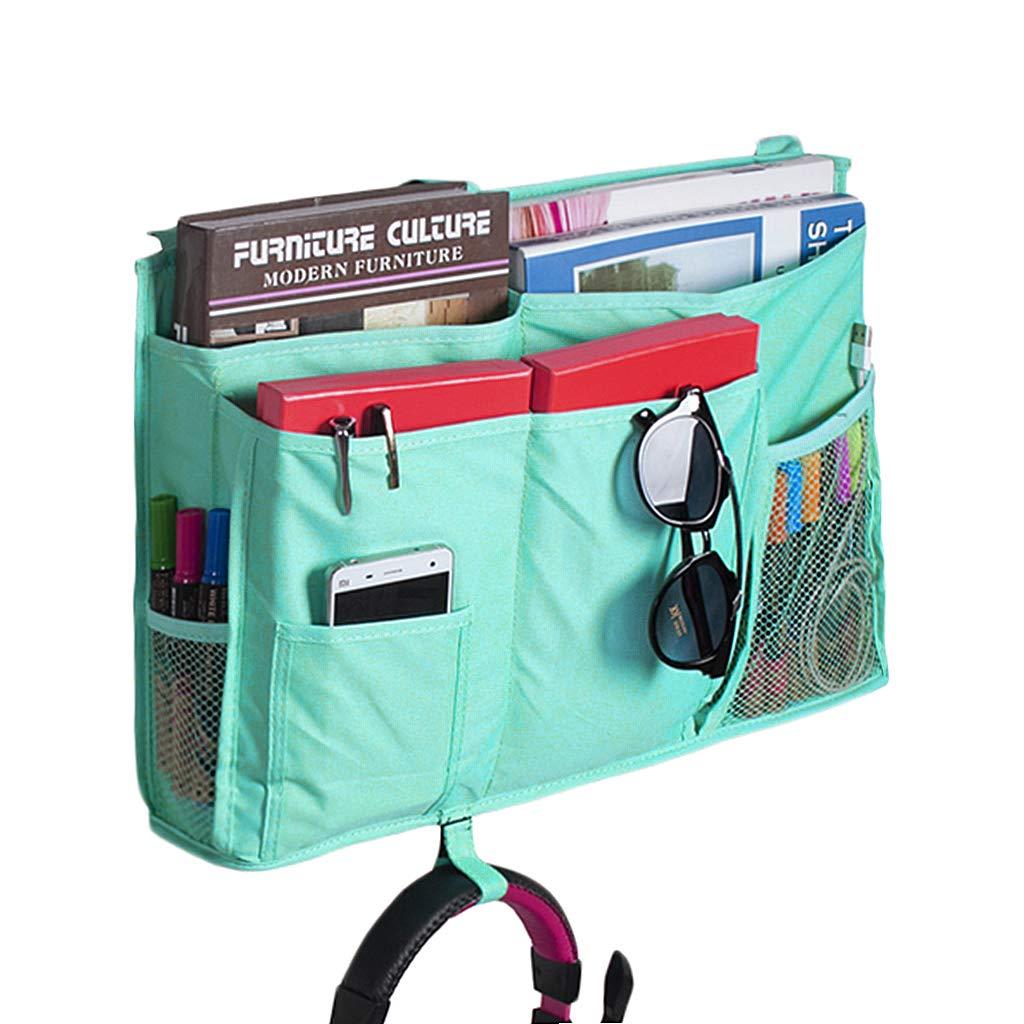 Amazon.com: 8 Pockets Bedside Hanging Bag Storage Organizer Bed