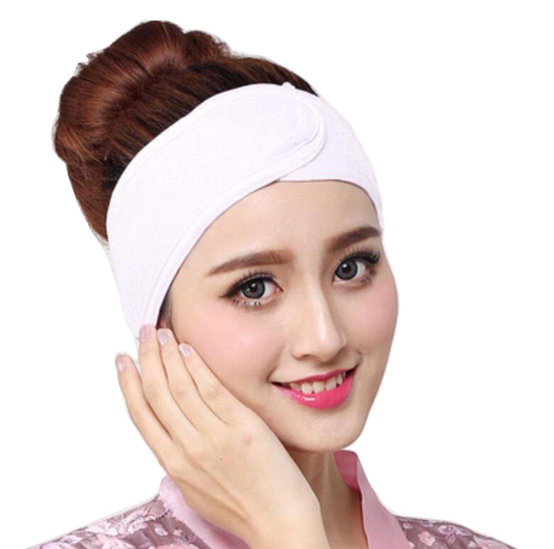 Amazon.com: 3Pcs 3.5 Inch Wide Stretch Terry Cloth Headband ...
