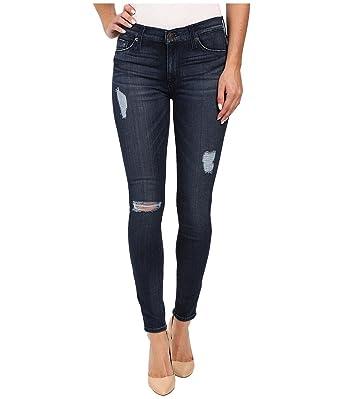 6460e4e6d Hudson Jeans Women's Nico Midrise Ankle Super Skinny 5-Pocket Jean, Anchor  Light 2