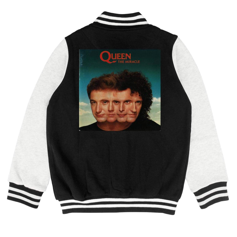 FAJDLD Queen Mens Tour 76 Slim Boys Girls 100/% Cotton Baseball Jacket Baseball Coat Top