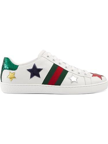 GUCCI - Zapatillas de Gimnasia Mujer,, 38 IT - Taille Fabricant 38: Amazon.es: Zapatos y complementos