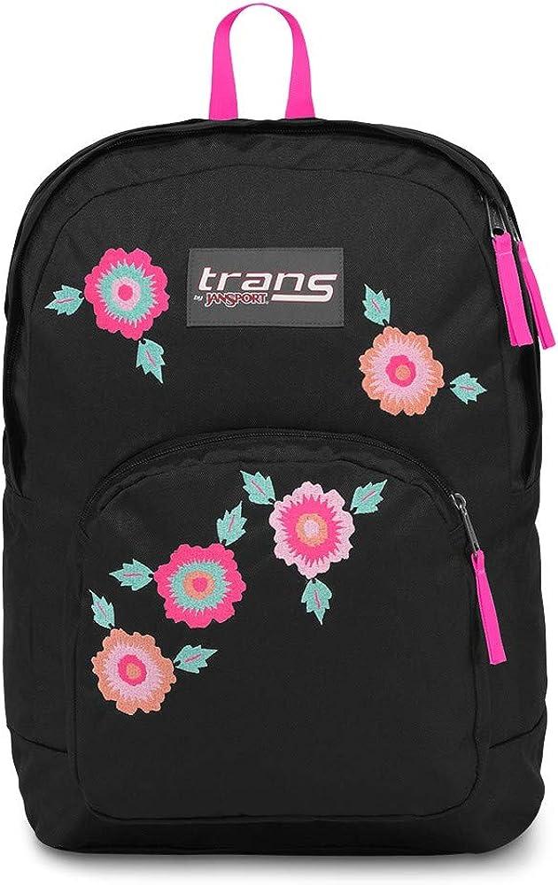 JanSport Unisex Overt Multicolor Palm Sunset Backpack