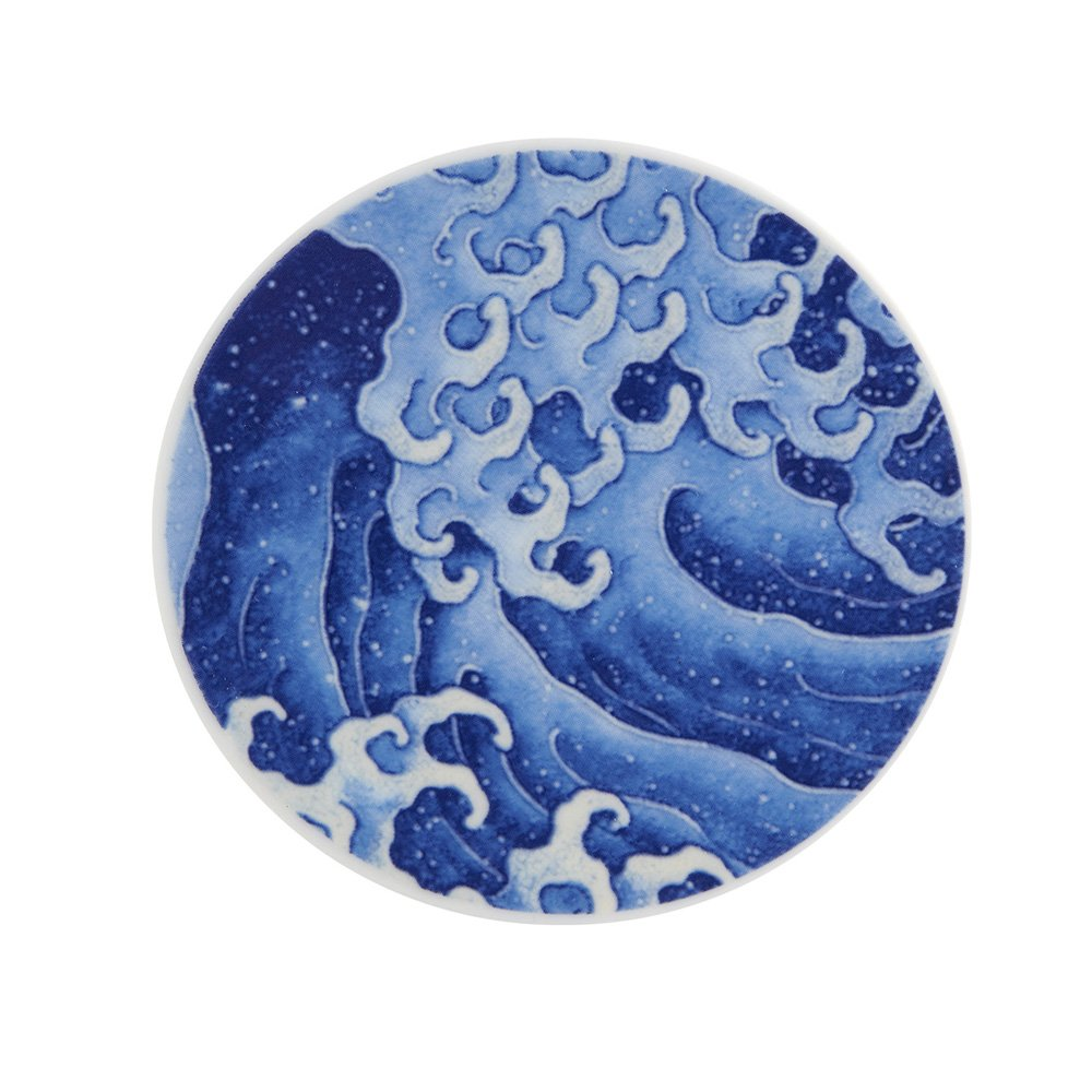 Vista Alegre Onda Va Porcelain Set of 4 Coasters