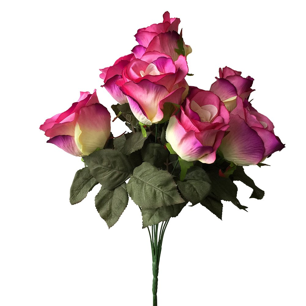 Amazon Rose Bush1 Bunch Of Pink Roses9 Large Stems Of Roses