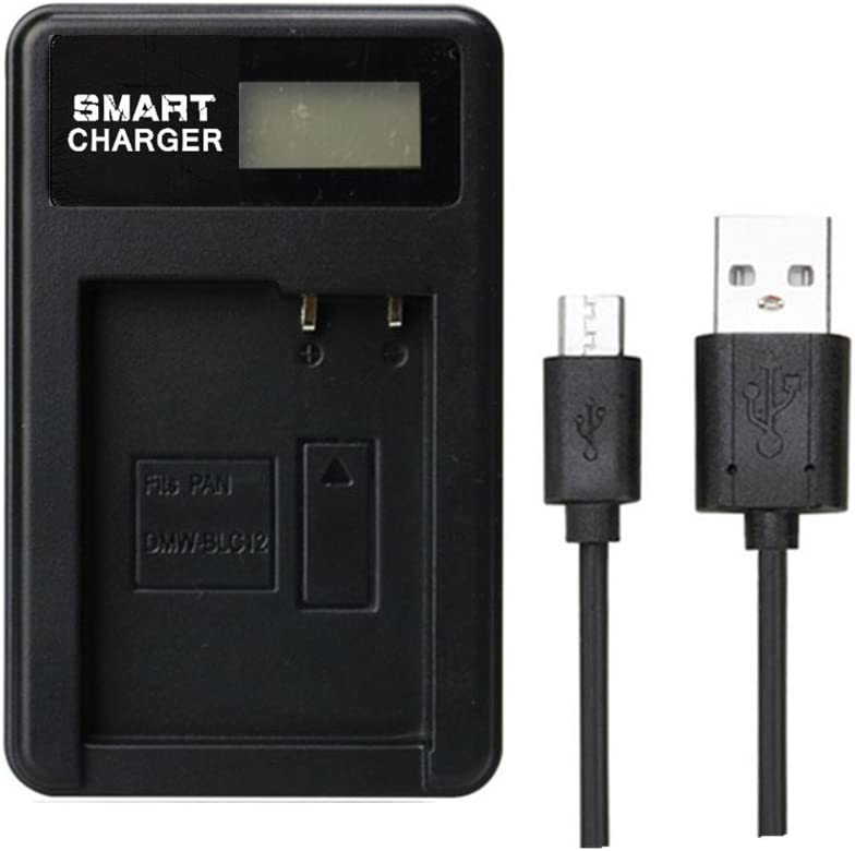 Cargador DE-80,DE-A80A Panasonic Lumix DMC-FZ1000 Lumix DMC-GX8 Lumix DMC-GH2