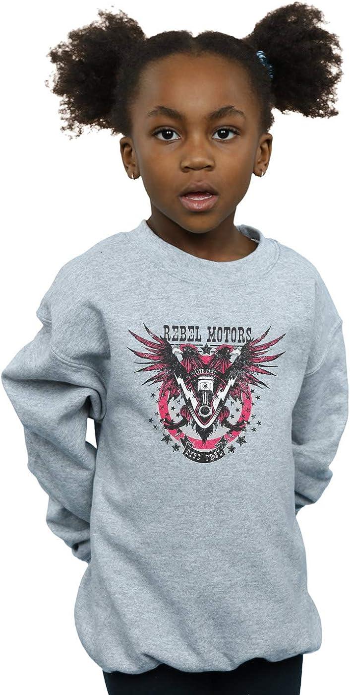 Drewbacca Girls Rebel Motors Sweatshirt