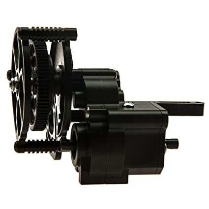 Xtra Speed Aluminum CNC Transmission Gearbox 80T//24T Axial Wraith #XS-AW230069