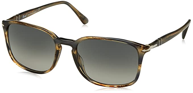 830a285330e49 Persol Men s Gradient PO3158S-104971-56 Grey Rectangle Sunglasses ...