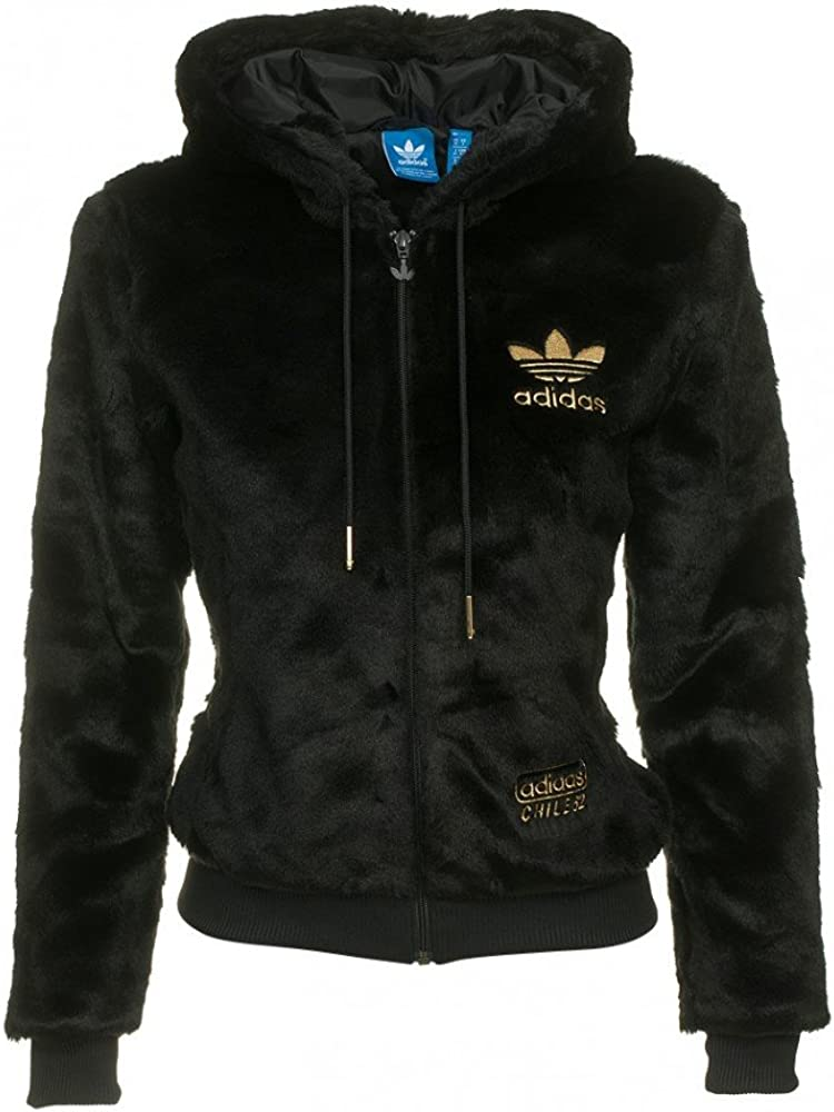 ADIDAS ORIGINALS CHILE 62, Jacke Winterjacke, schwarz