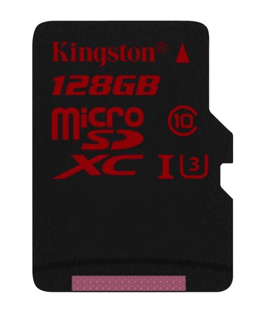 366 opinioni per Kingston SDCA3/128GB Scheda MicroSDHC/SDXC, UHS-I, U3, 90R/80W, SDCA3,