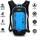 OUTDOOR LOCAL LION 10L Zaino Idratazione Ultraleggero per Alpinismo Escursionismo Zainetto per Ciclismo Backpack di campeggio Sport Outdoor Unisex per Ciclismo,Blu