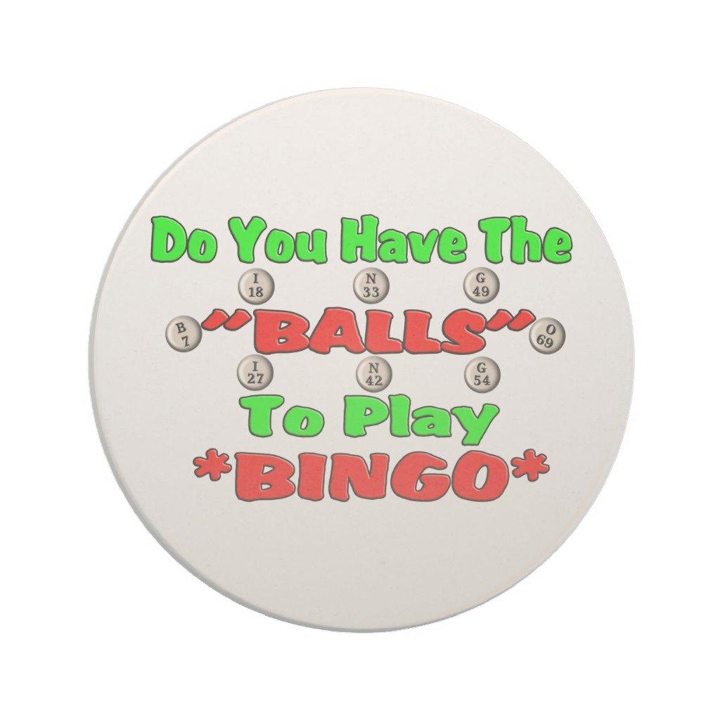 Zazzle Bingo Drink Coaster