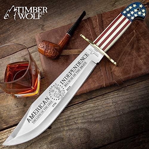 Condor Tool Knife, Bushlore Camp Knife, 4-5 16in Blade, Hardwood Handle with Sheath