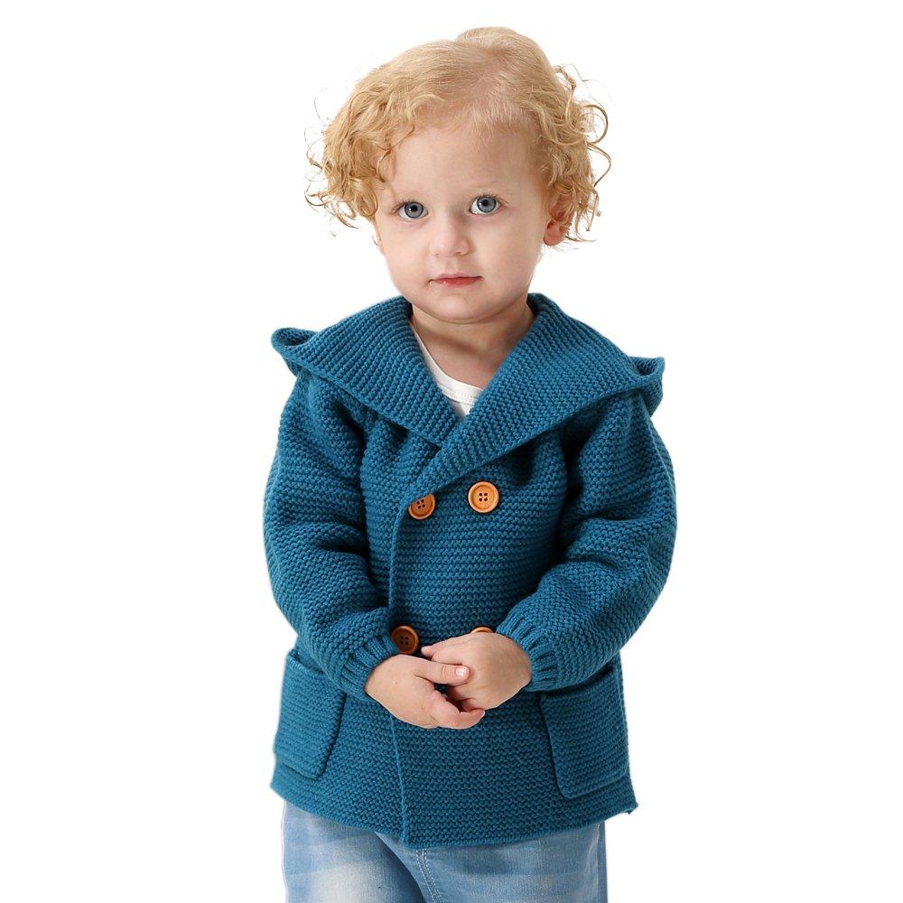 e1c74e095c4a MiMiXiong Baby Boy Cardigan Sweater Cartoon Hoodies Long Sleeve ...