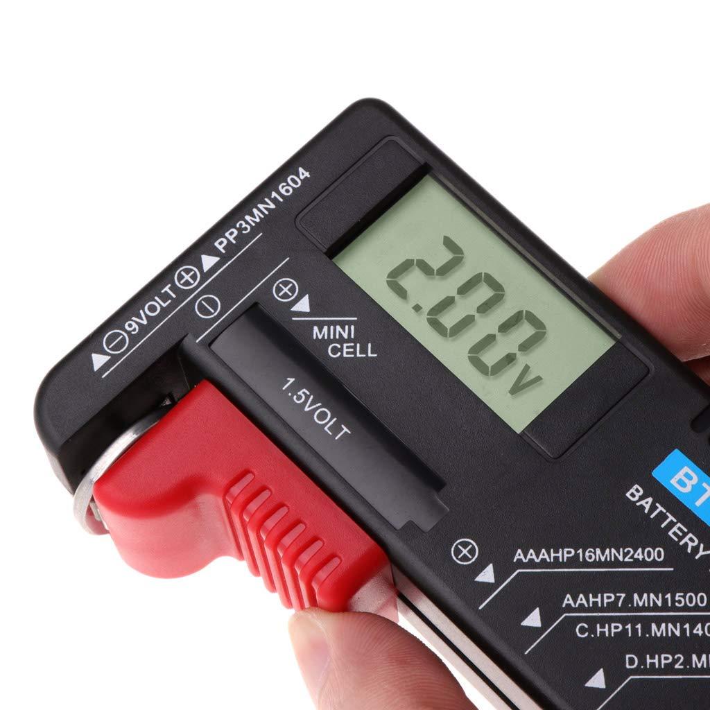 Ningyi683 BT168D Digital Battery Capacity Tester LCD For 9V 1.5V AA AAA Cell C D Batteries