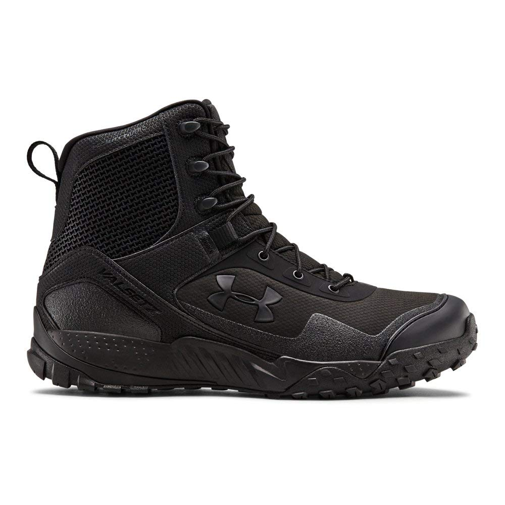 Under Armour Men's Valsetz RTS 1.5 with Zipper Military and Tactical, black/black with Zipper, 10.5