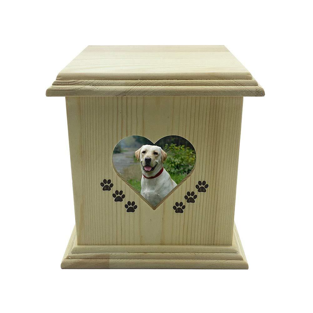 NWZW Hund Haustier Haus Katze Feuerbestattung Glas Denkmal Ruhig Box Quadrat Memorial Tier