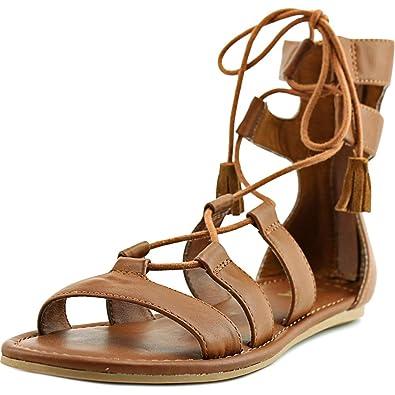87d3cf61d3f MIA Women s Ozie Gladiator Tassel Flat Sandal (9 B(M) US