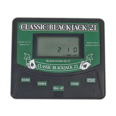 Classic Blackjack 21 Electronic Handheld Game Electronic Games: Toys & Games