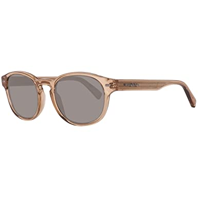 834a98cf23 Image Unavailable. Image not available for. Color  Sunglasses Ermenegildo  Zegna EZ 29 EZ0029 45N shiny light brown ...