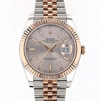 timeless design 6e85c 33ab3 Amazon | ロレックス ROLEX デイトジャスト 41 126331 新品 ...